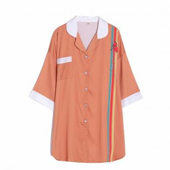"Длинная рубашка из шелка ""Necessary"""