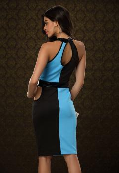 """Двухцветное платье """"Baziers"""""""